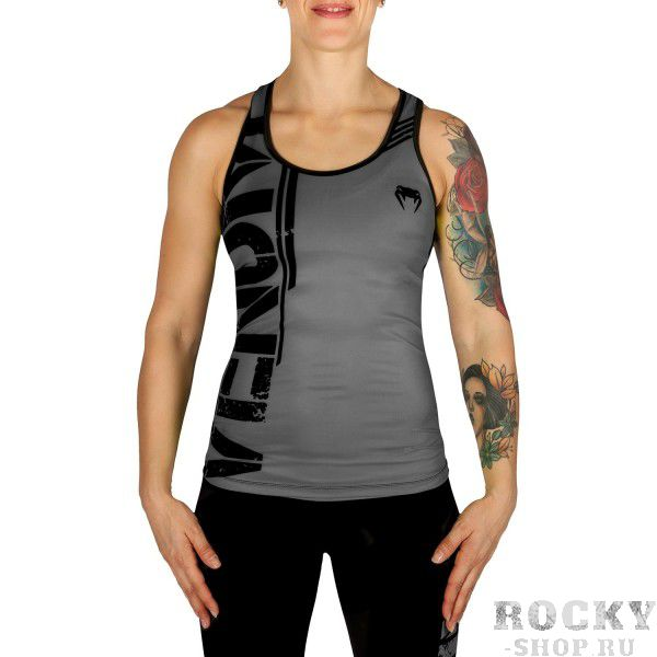Майка Venum Bodycombat - Black/Grey Venum