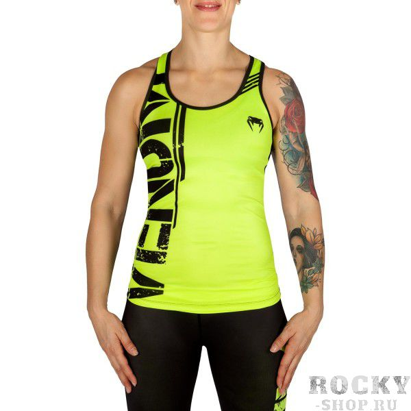 Майка Venum Bodycombat - Neo Yellow/Black Venum