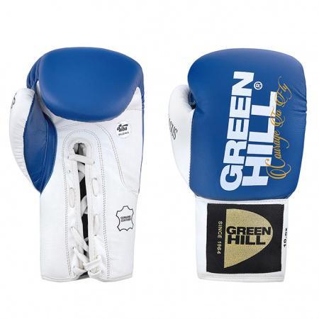 Боксерские перчатки PEGASUS AIBA PRO, 10 OZ Green HillБоксерские перчатки<br>Профессиональные боксерские перчатки PEGASUS. Высокотехнологичные перчатки, идеальные для профессиональных поединков. Наполнитель перчаток представляет собой комбинацию из пенополиуретана и конского волоса, обеспечивающую оптимальную защиту рукам боксера. Натуральная коровья кожа высшей категории обеспечивает этим перчаткам долговечность. Перчатки одобрены профессиональной лигой AIBA.<br><br>Цвет: Синий
