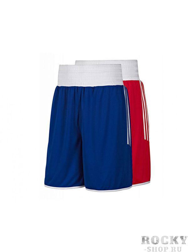 Боксерские шорты Adidas MULTI BOXING, синие AdidasШорты для бокса<br>Шорты для тренировок и соревнований.<br><br>Размер INT: S