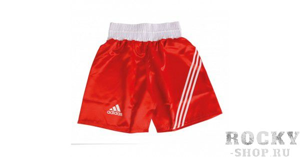 Боксерские шорты Adidas MULTI BOXING, красные AdidasШорты для бокса<br>Шорты для тренировок и соревнований.<br><br>Размер INT: XL