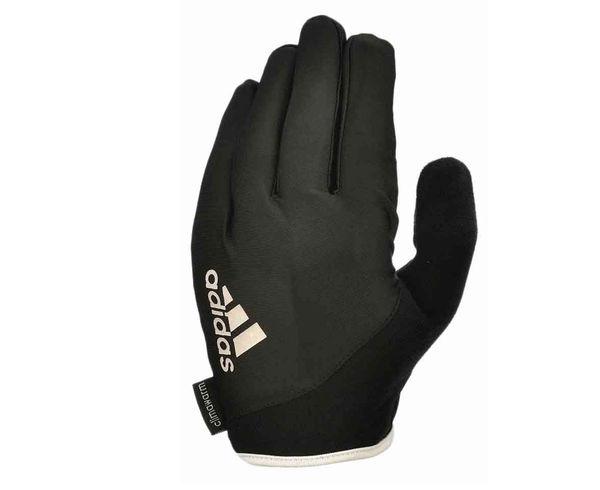 Купить Перчатки для фитнеса Full Finger Essential Gloves черно-белые Adidas (арт. 14752)