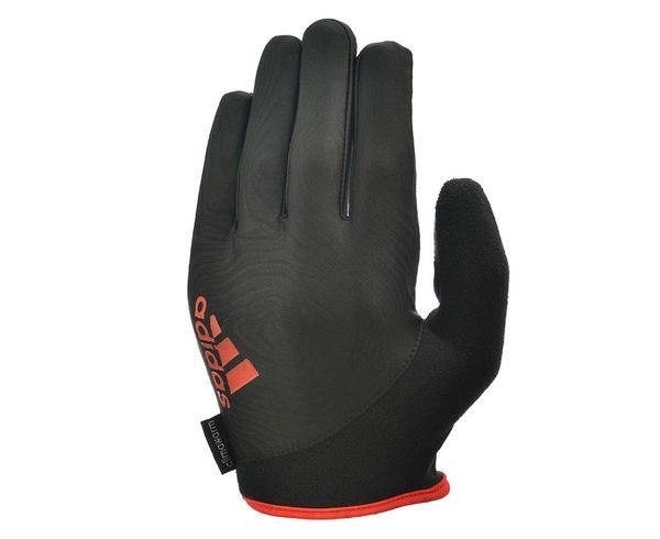 Купить Перчатки для фитнеса Full Finger Essential Gloves черно-красные Adidas (арт. 14753)