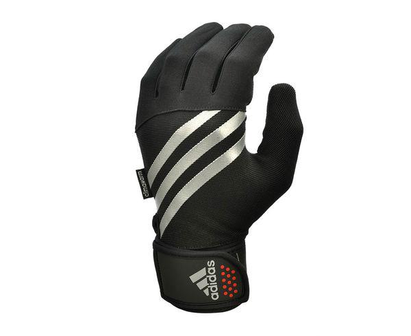 Перчатки тренировочные Training Gloves черно-белые Adidas
