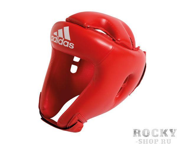 Детский боксерский шлем Competition Head Guard красный Adidas