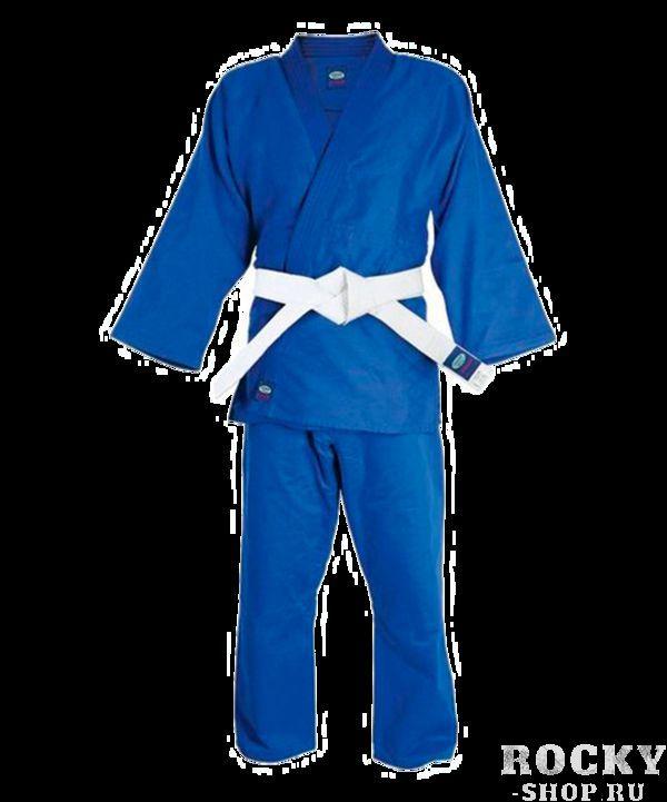 Кимоно для дзюдо Green Hill, синее, 190 см Green Hill (MA-302)