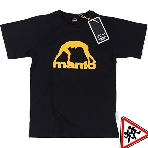 Детская футболка Manto Vibe MantoФутболки<br>Детская футболка Manto Vibe. Состав: 100% хлопок.<br><br>Размер INT: 128см