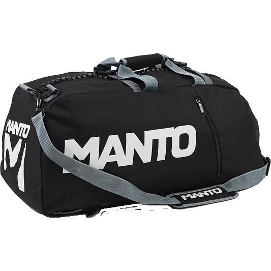 Спортивная сумка Manto MantoСпортивные сумки и рюкзаки<br>Спортивная сумка-рюкзак Manto Victory. Данную модель можно использовать как сумку, либо как рюкзак. Состоит сумка из одного большого отсека и нескольких вспомогательных карманов. Габариты сумки: 69x30x30см. Сумка изготовлена из полиэстера.<br>