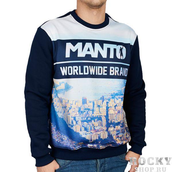 Толстовка Manto Classic Rio MantoТолстовки / Олимпийки<br>Толстовка Manto Classic Rio. Основной цвет - тёмно-синий. Состав: 100% хлопок, фронтальная вставка - полиэстер.<br><br>Размер INT: L