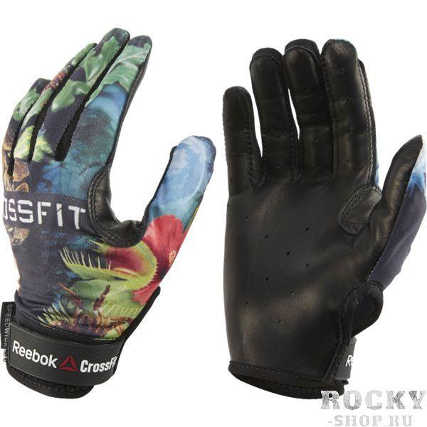 Женские перчатки Reebok CrossFit ReebokПерчатки для фитнеса<br>Женские перчатки Reebok CrossFit. Становая тяга. Махи гирей. Выход силой. CrossFit дает большую нагрузку на руки. Перчатки Competition CrossFit защитят ладони и гарантируют тебе уверенный хват. Технологичный материал и сетчатые вставки в зонах повышенного нагрева обеспечивают эффективную вентиляцию, а кожа шевро улучшает сцепление и гарантирует мягкий и мощный захват. Эластан и кожа шевро на ладони для эластичности и уверенного хвата. Технологичные и удобные застежки-липучки гарантируют надежную посадку. Технология Speedwick отводит влагу, оставляя ощущение сухости и комфорта. Сетчатые вставки между пальцами для дополнительной вентиляции. Перчатки полностью закрывают пальцы для надежной защиты.<br><br>Размер: M