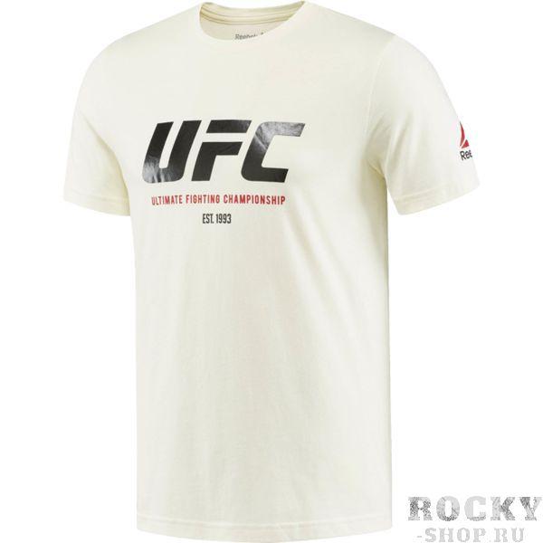 Спортивная футболка Reebok UFC ReebokФутболки / Майки / Поло<br>Спортивная футболка Reebok UFC. Официальная футболка UFC и Reebok. Уход: машинная стирка в холодной воде, деликатный отжим, не отбеливать.<br><br>Размер INT: XXL