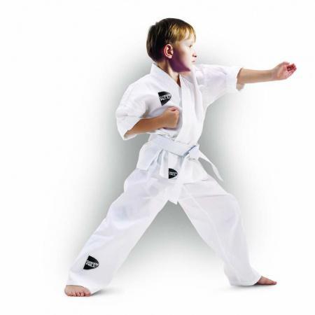 Кимоно для карате Green Hill Junior, 170 см Green HillЭкипировка для Каратэ<br>Бюджетный вариант кимоно для карате от известного производителя. 100% хлопок.<br>