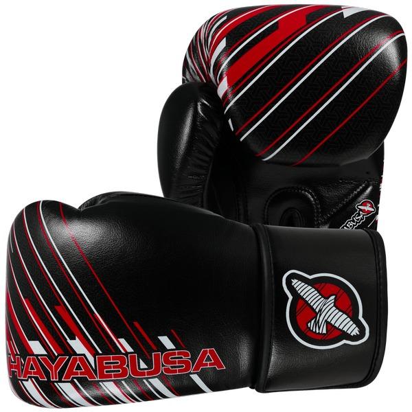 Купить Перчатки боксерские Hayabusa Ikusa Charged 10oz Gloves-Black/Red (арт. 15143)