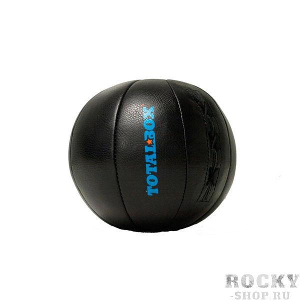 Медицинбол TOTALBOX 5 кг AquaboxМедицинболы<br>Вес 5 кгВысота 15 смЦвет ЧерныйНаполнитель Пенорезиновые гранулы/текстильное волокноСерия PROFFIМатериал Натуральная кожа (KRS)<br>