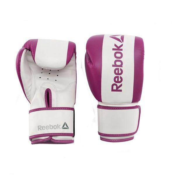 Перчатки боксерские Reebok Retail Boxing Gloves - Purple, 10 oz