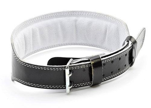 Купить Пояс тяжелоатлетический (кожа) Adidas Leather Lumbar Belt (арт. 15266)
