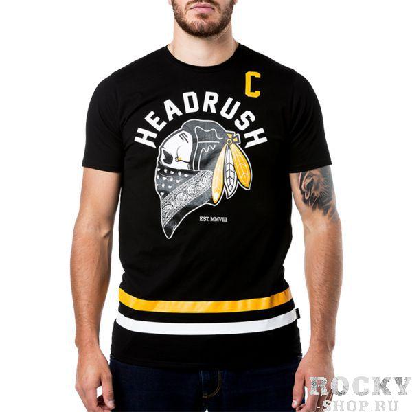 Футболка Headrush Geronimo HeadrushФутболки / Майки / Поло<br>Футболка Headrush Geronimo. Футболка для фанатов Chicago Blackhawks - клуба, в котором играл знаменитый Бобби Халл. Состав: 100% хлопок. Уход: машинная стирка в холодной воде, деликатный отжим, не отбеливать.<br><br>Размер INT: M