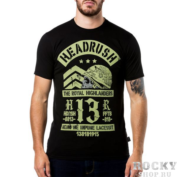 Футболка Headrush Moriarty HeadrushФутболки<br>Футболка Headrush Moriarty. Состав: 100% хлопок. Уход: машинная стирка в холодной воде, деликатный отжим, не отбеливать.<br><br>Размер INT: L