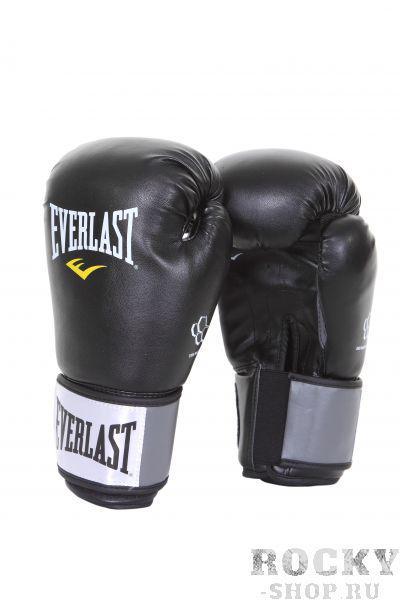 Купить Перчатки боксерские тренировочные Everlast Molded Foam 10 oz черный (арт. 1536)