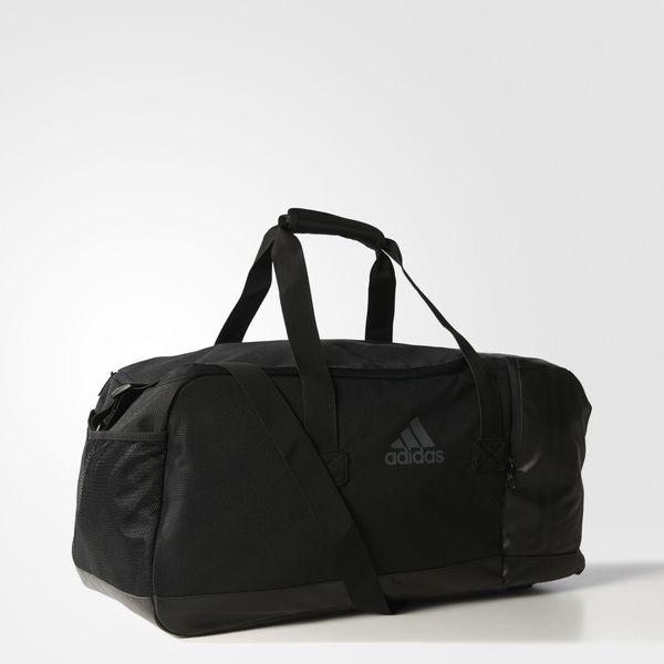 Купить Сумка спортивная 3-Stripes Performance Teambag M черная Adidas (арт. 15418)