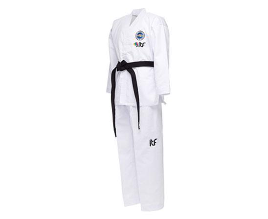 Добок для тхэквондо с поясом ITF Student Dobok белый AdidasЭкипировка для Тхэквондо<br><br><br>Размер: 180 см