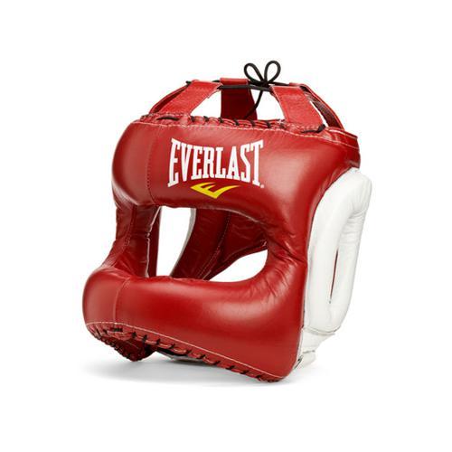 Шлем Everlast MX Headgear EverlastБоксерские шлемы<br>MX Headgear, боксерский шлем с высоким уровнем защиты. Благодаря своему дизайну, шлем предельно прикрывает зоны лба, щек, ушей и подбородка, обеспечивая безопасность во в ходе боя. Изготовлен, как вы уже догадались, индивидуально в Мексике из первоклассной кожи.<br><br>Размер: L