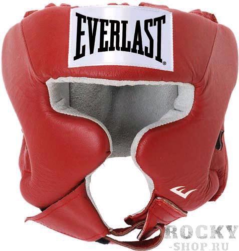 Шлем боксерский Everlast USA Boxing с защитой щек, L EverlastБоксерские шлемы<br>Everlast USA Headgear with Cheek Protection - боксерский шлем, разработанный для выступления на любительских состязаниях и одобрен ассоциацией USA Boxing. Плотный четырехслойный пенистый наполнитель отлично смягчает удары и намного снижает риск травмы. Качественная 100% кожа (снаружи) и не менее качественная замша (внутри) обеспечивают ощутительный запас прочности и отличную долговечность. Подгонка под необходимый размер и фиксирование на голове происходят за счет высокопрочной застежки на липучке. Если вы еще ищите шлем для предстоящих соревнований, то USA Headgear with Cheek Protection - это ваш выбор!<br><br>Цвет: Синий