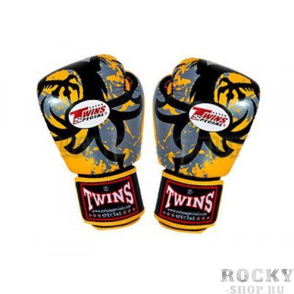 Купить Перчатки боксерские Twins BGV-38-Yellow Special 14 унций (арт. 15502)