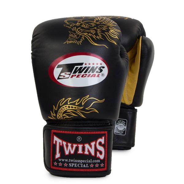 Перчатки боксерские Twins FBGV-6G, 16 унций  Twins SpecialБоксерские перчатки<br>Перчатки боксерские Twins FBGV-6G прекрасно подойдут для тайского бокса, кикбоксинга или классического бокса. Особенности:- Натуральная кожа высшего качества- Удобная застежка на липучке- Идеальное соотношение цена/качество- Фиксированный большой палец- Внутренний материал из многослойной высококачественной пены- Ручная работа<br>