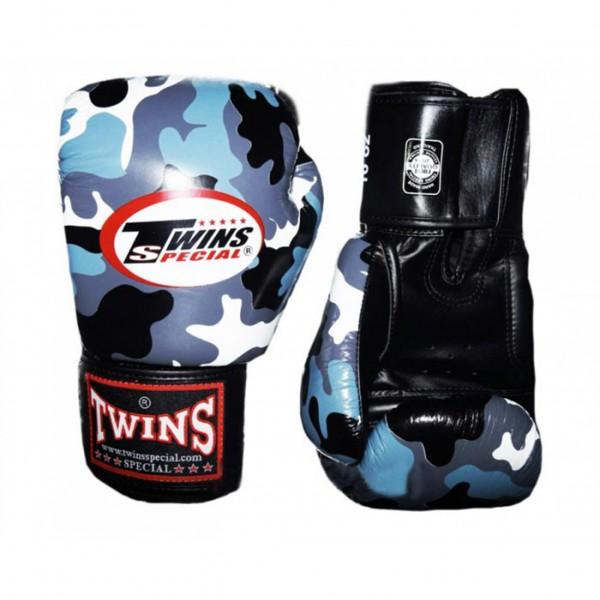 Перчатки боксерские Twins FBGV-UG, 14 унций  Twins SpecialБоксерские перчатки<br>Перчатки боксерскиеTwins FBGV-UGпрекрасно подойдут для тайского бокса, кикбоксинга или классического бокса. Особенности:- Натуральная кожа высшего качества- Удобная застежка на липучке- Идеальное соотношение цена/качество- Фиксированный большой палец- Внутренний материал из многослойной высококачественной пены- Ручная работа- Страна производитель: Тайланд<br>