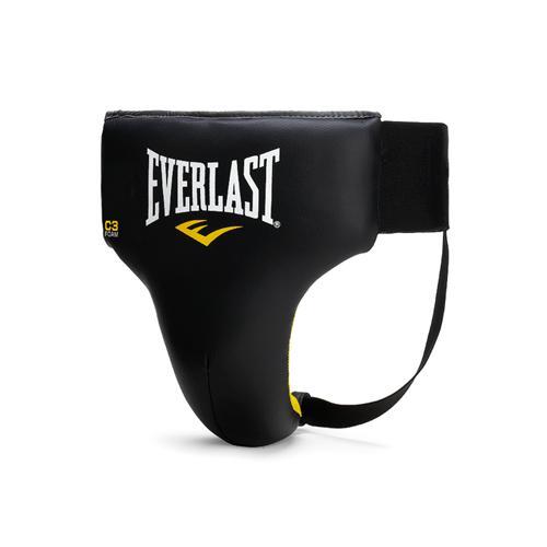 Бандаж Everlast без защиты бедра Vinyl Pro EverlastЗащита тела<br>Простой и комфортабельный бандаж Everlast Vinyl Pro Cup разработан для профессионалов, предпочитающих в бою мобильность и скорость. Изготовлен из крепкого искусственной кожи, что гарантирует долговечность и износостойкость. Подкладка набита пенным наполнителем наивысшей плотности, обеспечивая первоклассную смягчение ударов. Благодаря этому, Vinyl Pro Cup предоставляет наивысшую степень защиты живота и паховой области, позволяя вам выстоять в самом жестком бою!<br><br>Размер: XL