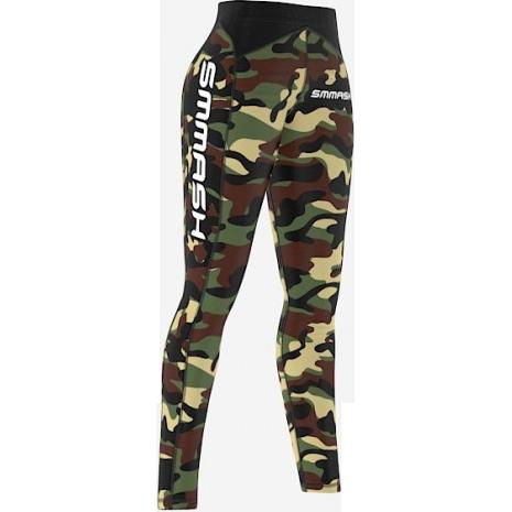 Купить Женские компрессионные штаны Smmash Camo Green Fightwear (арт. 15615)