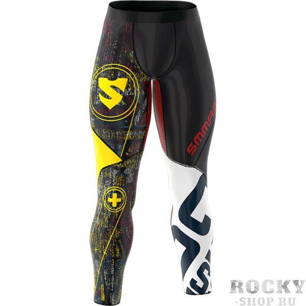 Компрессионные штаны Smmash Graffiti Fightwear (арт. 15626)  - купить со скидкой