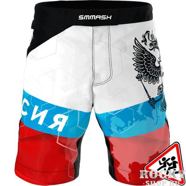 Детские шорты Smmash Russia Fightwear (арт. 15630)  - купить со скидкой
