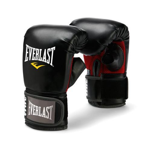 Перчатки снарядные Everlast Martial Arts EverlastCнарядные перчатки<br>Снарядные перчатки для работы по мешкам и лапам. Ключевые особенности:Обмотки с застежкой на липучке позволяют кастомизировать перчатки по вашей руке, а также обеспечивают самую высокую фиксацию предплечья. Новый дизайн разработан специально для повышения мобильности большого пальца и защиты кисти.<br>