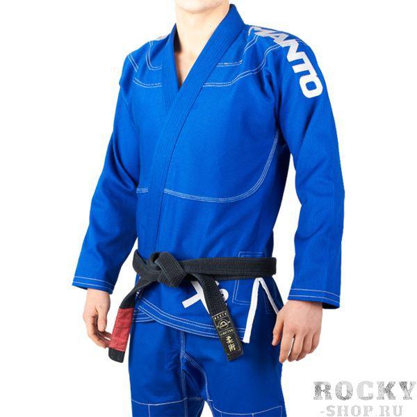 Кимоно для БЖЖ Manto X2 Blue MantoЭкипировка для Джиу-джитсу<br>Кимоно (ги) для бжж(бразильского джиу-джицу) Manto X2 Blue. Идеальный выбор для всех практикующих BJJ. - Плотность 450 GSM - В области колен штаны дополнительно укреплены. - Воротник, наполнен пеной ЕВА для более быстрого высыхания и комфорта. - Высочайшее качество вышивки и патчей. - Плетение Pearl Weave. - Рип-стоп штаны. Подойдет и для ежедневных тренировок и для соревнований. Ги сделано из цельного куска ткани(без швов на спине)! Штаны на шнурке; на поясе - допонительные петли для того, чтобы шнурок держал штаны прочно; данное ги подойдет и для новичков, и для мастеров роллинга. ворот кимоно уплотнен специальной пенной вставкой. При стирке в горячей воде возможна усадка порядка 5%. стирать ги рекомендуется в мягкой воде до 30 градусов без отбеливателя. Состав: 100% хлопок высокого качества. Пояс в комплект НЕ входит.<br><br>Размер: A0