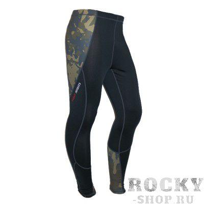 Компрессионные штаны Fight Nights Camo Fight NightsКомпрессионные штаны / шорты<br>Крутые компрессионные штаны от известного бренда FightNights. Дополнение к линейке одежды Camo.<br><br>Размер INT: XXL