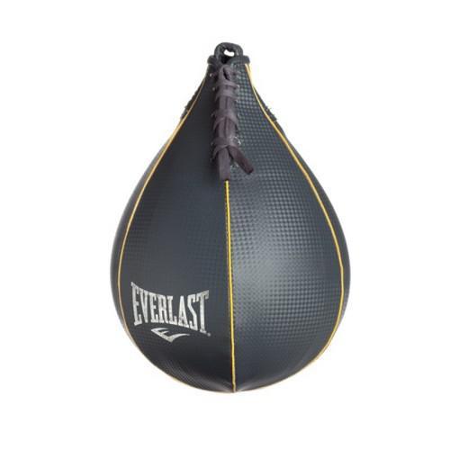 Груша боксерская Everlast скоростная Everhide 23 x EverlastСнаряды для бокса<br>Боксерская груша Everhide Speed Bag превосходно подойдет начинающим спортсменам для наработки скорости удара. Она сделана из добротного искусственной кожи, все строчки дополнительно укреплены, что гарантирует долговечность и износостойкость. Груша превосходно сбалансирована, вследствие чему достигается идеальный рикошет при ударах для увеличения эффективности занятий спортом.Размер: Размер: 6х9 дюймов (15х22,5 см.)Внимание! Груши типа Speed Bag используются исключительно для проработки скорости.<br>