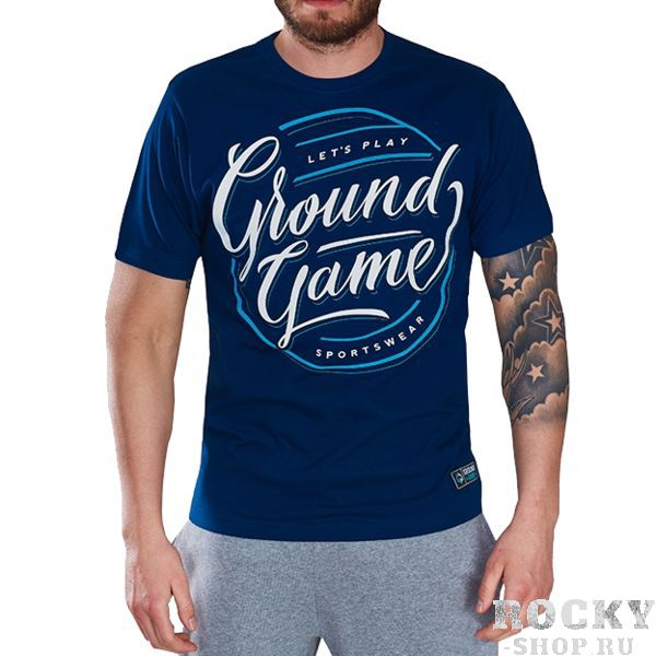 Футболка Ground Game Classic Ground GameФутболки<br>Футболка Ground Game Classic. - Лекала приталены и отлично сядут на спортивную фигуру. Cостав: 100% хлопок.<br><br>Размер INT: XL
