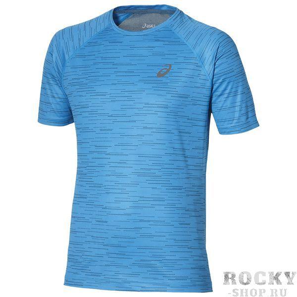 Беговая футболка ASICS 134692 0053 SS TOP  AsicsФутболки<br>Беговая футболка ASICS 134692 0053 SS TOP•Стильная мужская футболка от ASICS идеально подойдет как для бега, фитнеса, так и для повседневной носки. •Высокотехнологичная синтетическая ткань обладает высокой воздухопроницаемостью, а также превосходно отводит влагу от тела, оставляя кожу сухой даже во время интенсивных тренировок. •Комфортные плоские швы и мягкая кайма горловины исключают риск натирания и раздражения. •Спина футболки декорирована широкой сетчатой вставкой контрастного цвета. •Футболка оформлена логотипом бренда на груди. •Инструкция по уходу: стирать при температуре не выше 30°С, гладить при низкой температуре, не отбеливать, химчистка запрещена.<br><br>Размер INT: S