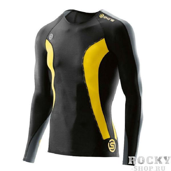 Купить Компрессионная футболка Skins dinamic mens top long sleeve (арт. 16002)