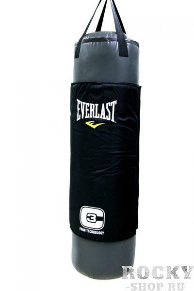 Мешок боксерский Everlast Double-End C3 Foam, 45 кг EverlastСнаряды для бокса<br>Уникальный боксерский мешок C3 Foam Heavy Bag разработан специально для того, чтобы предельно повысить эффективность занятий спортом для любых атлетов, будь то новичок, любитель или профессионал. Внутри он набит оригинальной смесью смягченных искусственный и натуральных волокон, что гарантирует первоклассную смягчение. В то же в ходе, наружный защитный слой, сделанный с применением технологии C3 Foam™, дополнительно рассеивает энергию удара и позволяет проводить самые жесткие тренировки. Изготовлен из добротного искусственной кожи с применением технологии Nevatear™, все крепежные лямки дополнительно дополнительно укреплены. Двойное крепление пол - потолок обеспечивают жесткую фиксацию, а ремни из крепкого нейлона - безопасность при тренировках.Вес: 100 фунтов (45 кг)<br>