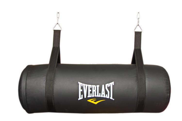 Мешок апперкотный Everlast 30кг, 86*32см, Черный EverlastСнаряды для бокса<br>Данный боксерский мешок создан специально для отработки апперкотов. С помощью этого мешка&amp;nbsp; вы сможете уделить большое внимание этому виду удара, поставить его, увеличить силу и мощность удара. Мешок сделан из высококачественной искусственной кожи, что позволяет ему долго держать форму. Благодаря современной технологии набивки, работа по мешку будет проходить комфортно и безопасно для занимающегося.P.S. На нем можно отрабатывать и другие удары руками, например боковой или прямой, удары коленями.<br>