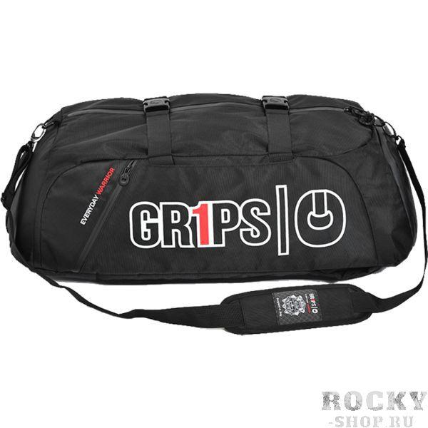 Спортивная сумка-рюкзак Grips Grips AthleticsСпортивные сумки и рюкзаки<br>Спортивная сумка-рюкзак Grips. Большая стильная сумка от Grips. Рюкзак выполнен из влагостойкого прочного полиэстера с антимикробной пропиткой. Состоит сумка из основного и вспомогательных карманов. Присутствуют встроенные ручки и ремень для ношения сумки через плечо. Габариты: 70x24x36 см.<br>