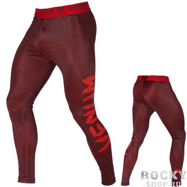 Компрессионные штаны Venum Nightcrawler VenumКомпрессионные штаны / шорты<br>Компрессионные штаны Venum Nightcrawler. С этими компрессионками от Venum вы будете думать только о тренировочном процессе, не отвлекаясь на неприятные ощущения в мышцах ног. Предназначены для улучшения кровообращения в мышцах, что, в свою очередь, способствует уменьшению времени на восстановление полной работоспособности мышцы. Прекрасно сидят на любом теле, хорошо тянутся, абсолютно НЕ сковывают движения. Очень приятная на ощупь ткань. Штаны Venum достаточно быстро сохнут. Плоские швы не натирают кожу. Предназначены для занятий самыми различными единоборствами, кроссфитом, фитнесом, железным спортом и т. д. . Уход: Машинная стирка в холодной воде, деликатный отжим, не отбеливать.<br><br>Размер INT: S