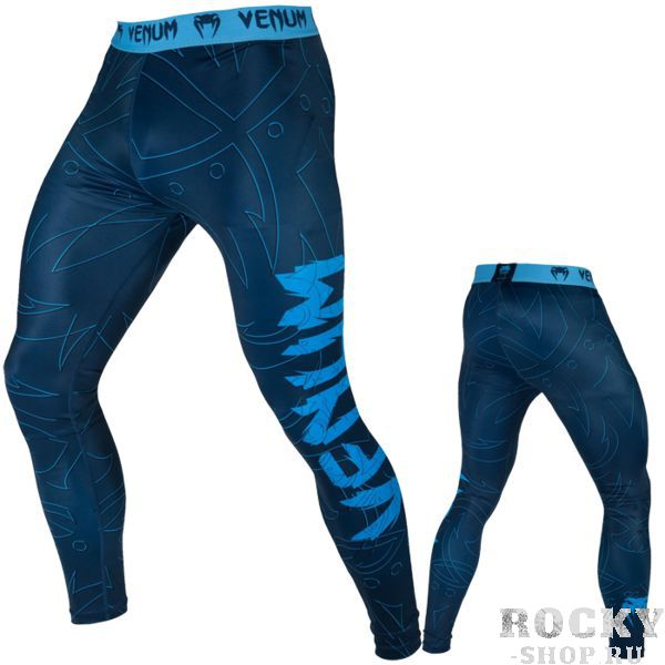 Компрессионные штаны Venum Nightcrawler VenumКомпрессионные штаны / шорты<br>Компрессионные штаны Venum Nightcrawler. С этими компрессионками от Venum вы будете думать только о тренировочном процессе, не отвлекаясь на неприятные ощущения в мышцах ног. Предназначены для улучшения кровообращения в мышцах, что, в свою очередь, способствует уменьшению времени на восстановление полной работоспособности мышцы. Прекрасно сидят на любом теле, хорошо тянутся, абсолютно НЕ сковывают движения. Очень приятная на ощупь ткань. Штаны Venum достаточно быстро сохнут. Плоские швы не натирают кожу. Предназначены для занятий самыми различными единоборствами, кроссфитом, фитнесом, железным спортом и т. д. . Уход: Машинная стирка в холодной воде, деликатный отжим, не отбеливать.<br><br>Размер INT: XL