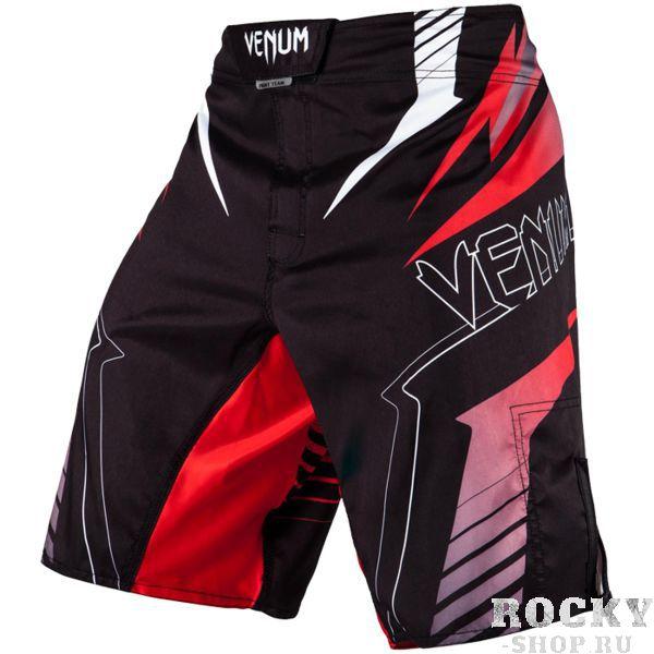 ММА шорты Venum SHARP 3.0 VenumШорты ММА<br>ММА шорты Venum SHARP 3. 0. Достаточно простой, но стильный дизайн. При разработке шорт был учтен весь богатый научный опыт VENUM по созданию бойцовской экипировки ( одежды ММА ). Идеально подходят и для тренировочного процесса, и для соревнований даже самого высокого уровня. Материал, использованный для создания бойцовских шорт Venum - это 100% высококачественная легка микрофибра ( полиэстер ). Шорты мма venum очень легкие, но при этом прочные. Благодаря тянущимися материалу и боковым разрезам мма шорты Venum не создают никакого дискомфорта бойцу ни в стойке, ни в партере. Крепятся шорты на поясе с помощью липучки и встроенного в пояс шнурка. Рисунок полностью сублимирован в ткань. он не потрескается и не сотрется! Уход: машинная стирка в холодной воде, деликатный отжим, не отбеливать. Состав: 100% полиэстер.<br><br>Размер INT: XL