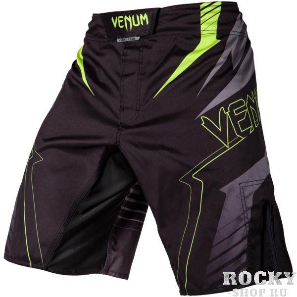 ММА шорты Venum SHARP 3.0 VenumШорты ММА<br>ММА шорты Venum SHARP 3. 0. Достаточно простой, но стильный дизайн. При разработке шорт был учтен весь богатый научный опыт VENUM по созданию бойцовской экипировки ( одежды ММА ). Идеально подходят и для тренировочного процесса, и для соревнований даже самого высокого уровня. Материал, использованный для создания бойцовских шорт Venum - это 100% высококачественная легка микрофибра ( полиэстер ). Шорты мма venum очень легкие, но при этом прочные. Благодаря тянущимися материалу и боковым разрезам мма шорты Venum не создают никакого дискомфорта бойцу ни в стойке, ни в партере. Крепятся шорты на поясе с помощью липучки и встроенного в пояс шнурка. Рисунок полностью сублимирован в ткань. он не потрескается и не сотрется! Уход: машинная стирка в холодной воде, деликатный отжим, не отбеливать. Состав: 100% полиэстер.<br><br>Размер INT: M