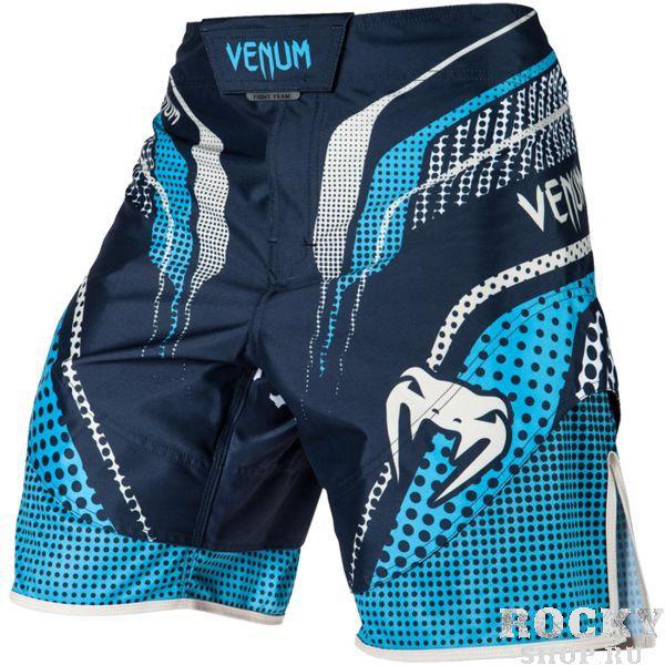 ММА шорты Venum Elite 2.0 VenumШорты ММА<br>ММА шорты Venum Elite 2. 0. При разработке шорт был учтен весь богатый научный опыт VENUM по созданию бойцовской экипировки ( одежды ММА ). Идеально подходят и для тренировочного процесса, и для соревнований даже самого высокого уровня. Материал, использованный для создания бойцовских шорт Venum - это 100% высококачественная легка микрофибра ( полиэстер ). Шорты мма venum очень легкие, но при этом прочные. Благодаря тянущимися материалу и боковым разрезам мма шорты Venum не создают никакого дискомфорта бойцу ни в стойке, ни в партере. Крепятся шорты на поясе с помощью липучки и встроенного в пояс шнурка. Рисунок полностью сублимирован в ткань. он не потрескается и не сотрется! Уход: машинная стирка в холодной воде, деликатный отжим, не отбеливать. Состав: 100% полиэстер.<br><br>Размер INT: M