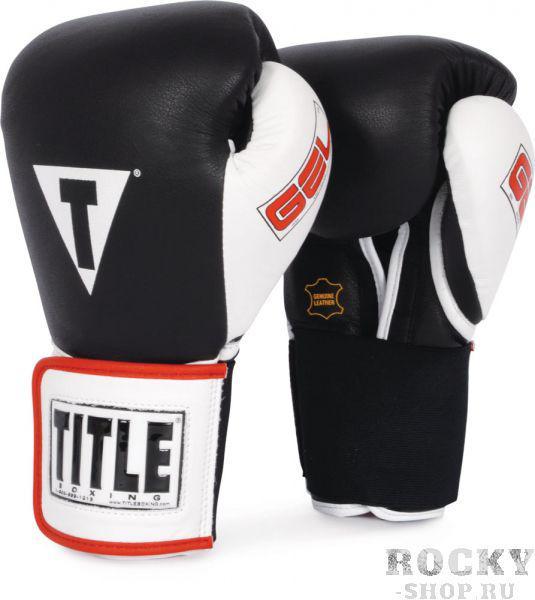 Купить Перчатки боксерские Title тренировочные Gel World TITLE 12 oz (арт. 1627)